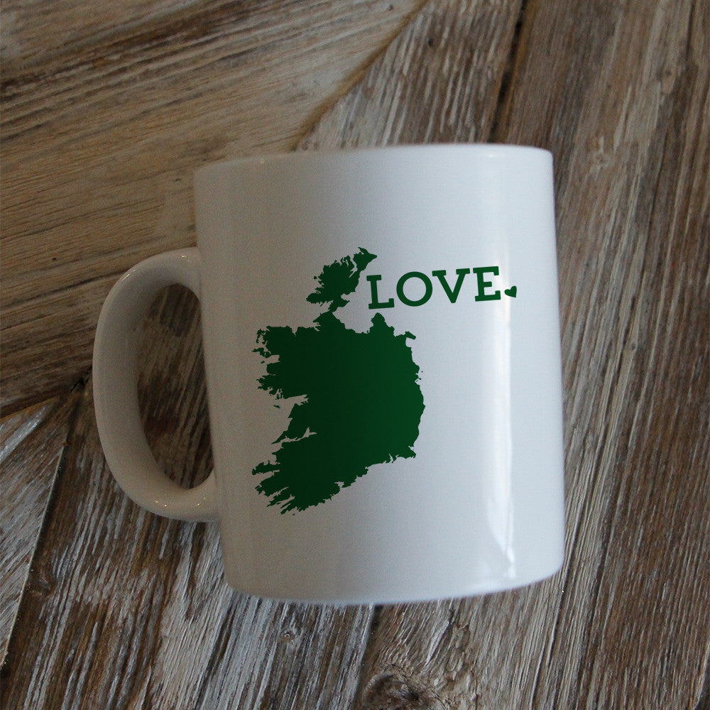 New! Irish Tote Bag and Coffee Mug