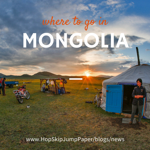 The best places to visit in Mongolia