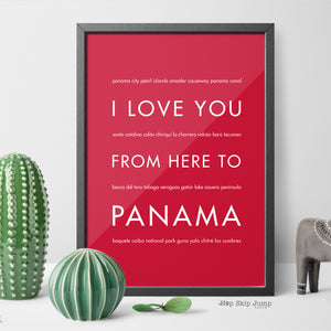 PRODUCT REVIEW: I Love You From Here to Panama