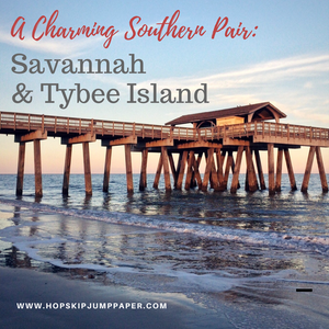 A Charming Southern Pair: Savannah and Tybee Island