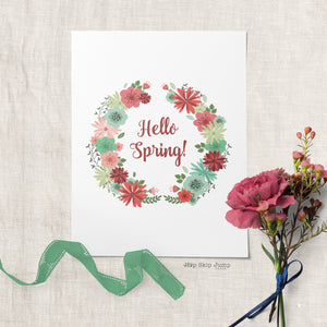 Happy Spring! (And a FREE printable!)