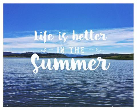 Summer ends. But memories last forever. - Free Printable Download!