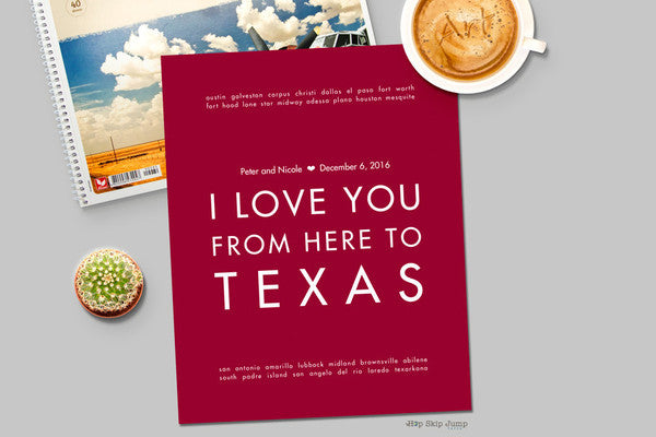 Express Your Texas Spirit with a Gift from HSJP