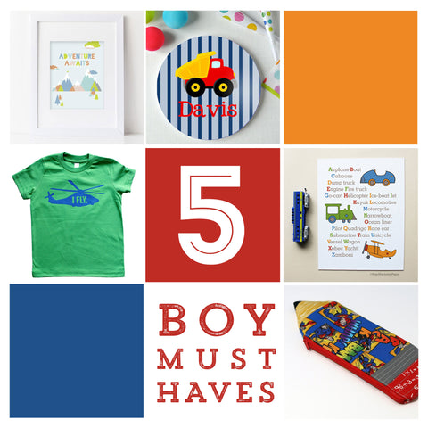 5 boy must haves