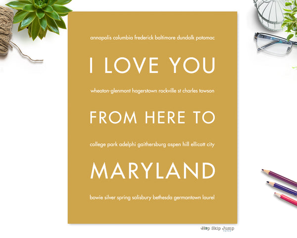 maryland poster on Houzz