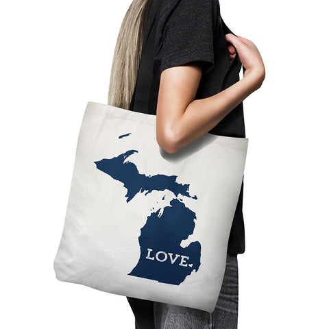 michigan state tote bag