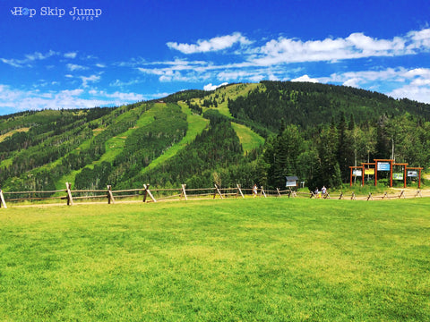 mt werner ski mountain steamboat springs summer colorado