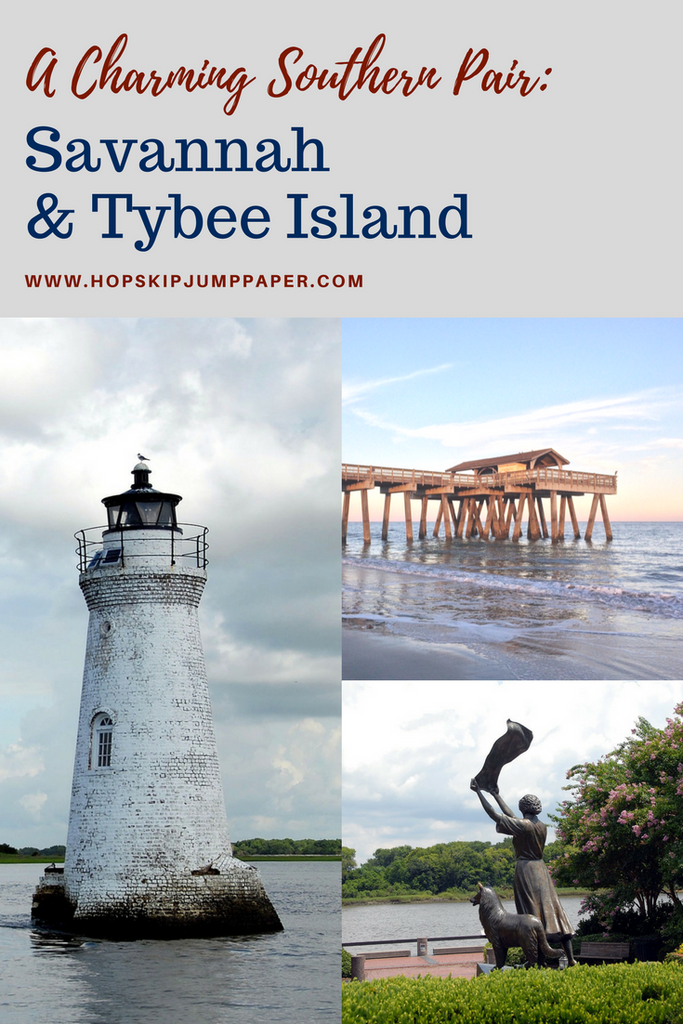 savannah and Tybee Island Georgia