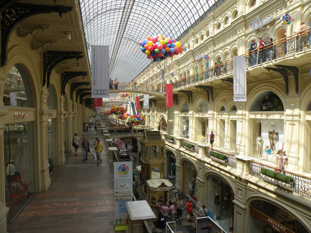 Moscow shopping GUM