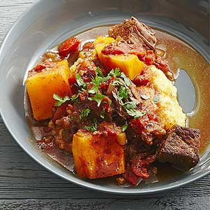Texas Beef with Butternut Squash midwest living