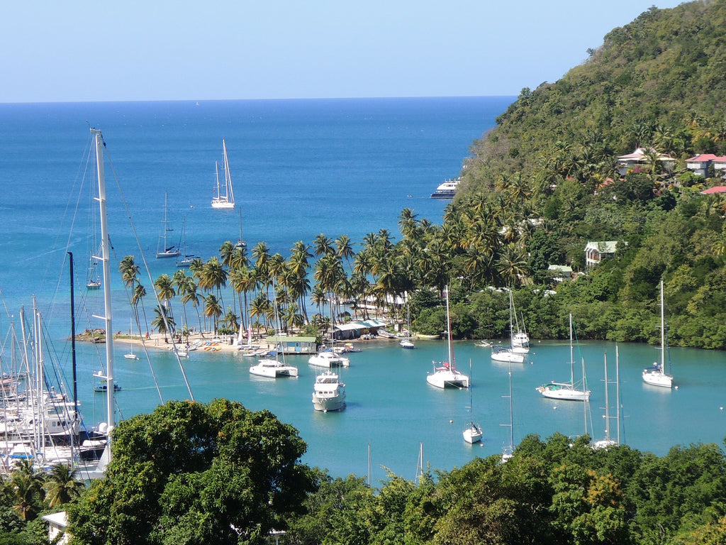 St. Lucia Caribbean Islands, wedding honeymoon travel blog destinations tips and photography at Hop Skip Jump Paper