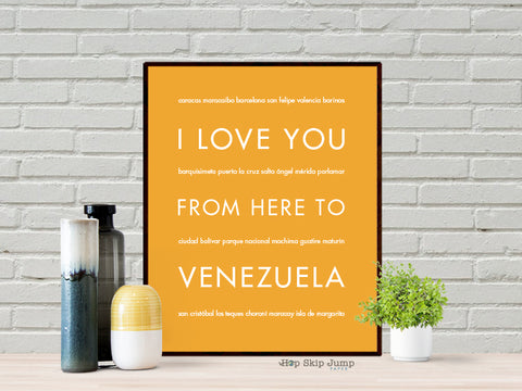 I Love You From Here to Venezuela