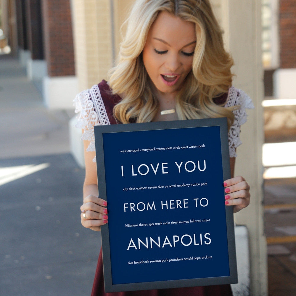 ANNAPOLIS City Wall Art | Gift Idea | HopSkipJumpPaper  - Shop Online