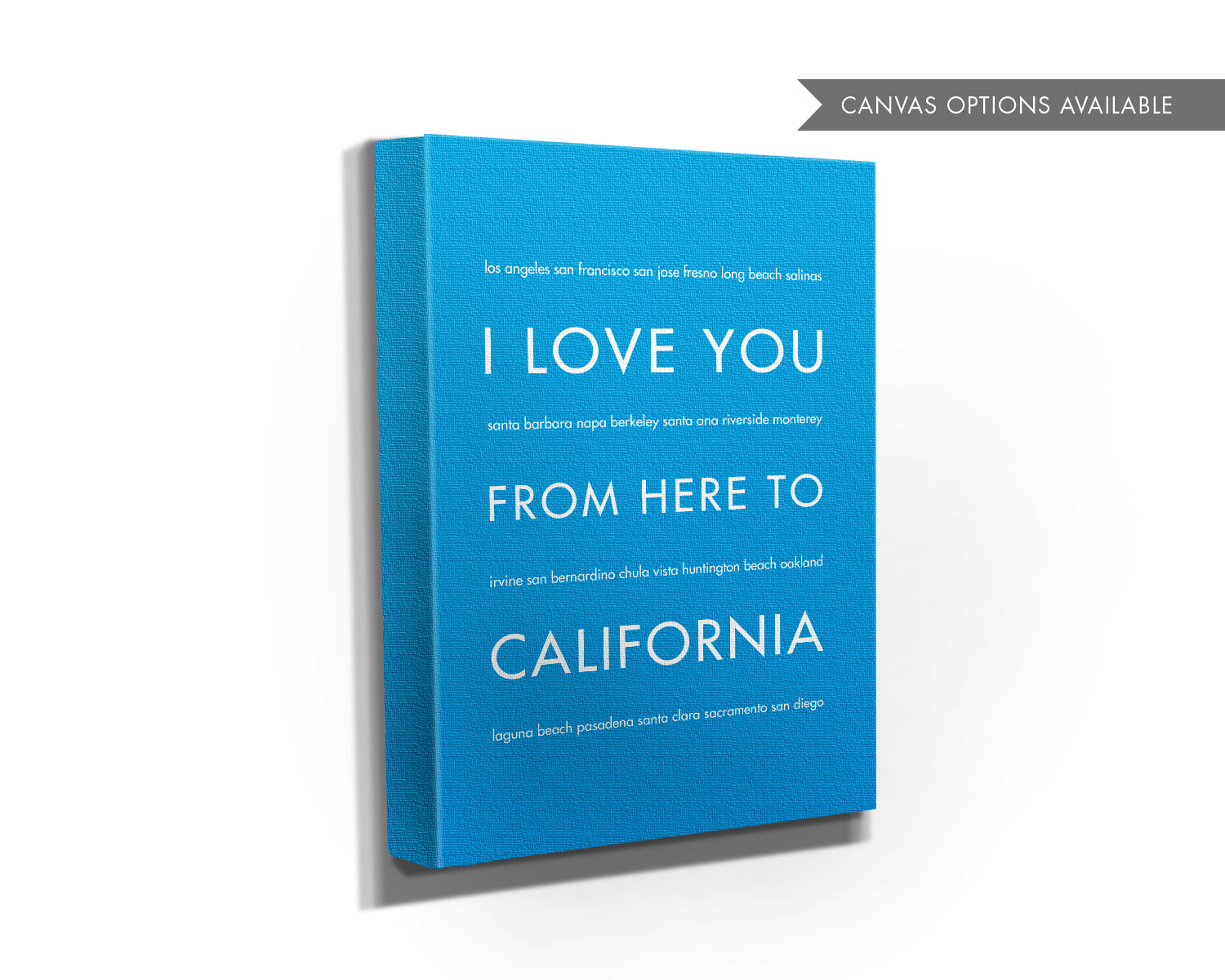 CALIFORNIA State Wall Art | Gift Idea | HopSkipJumpPaper