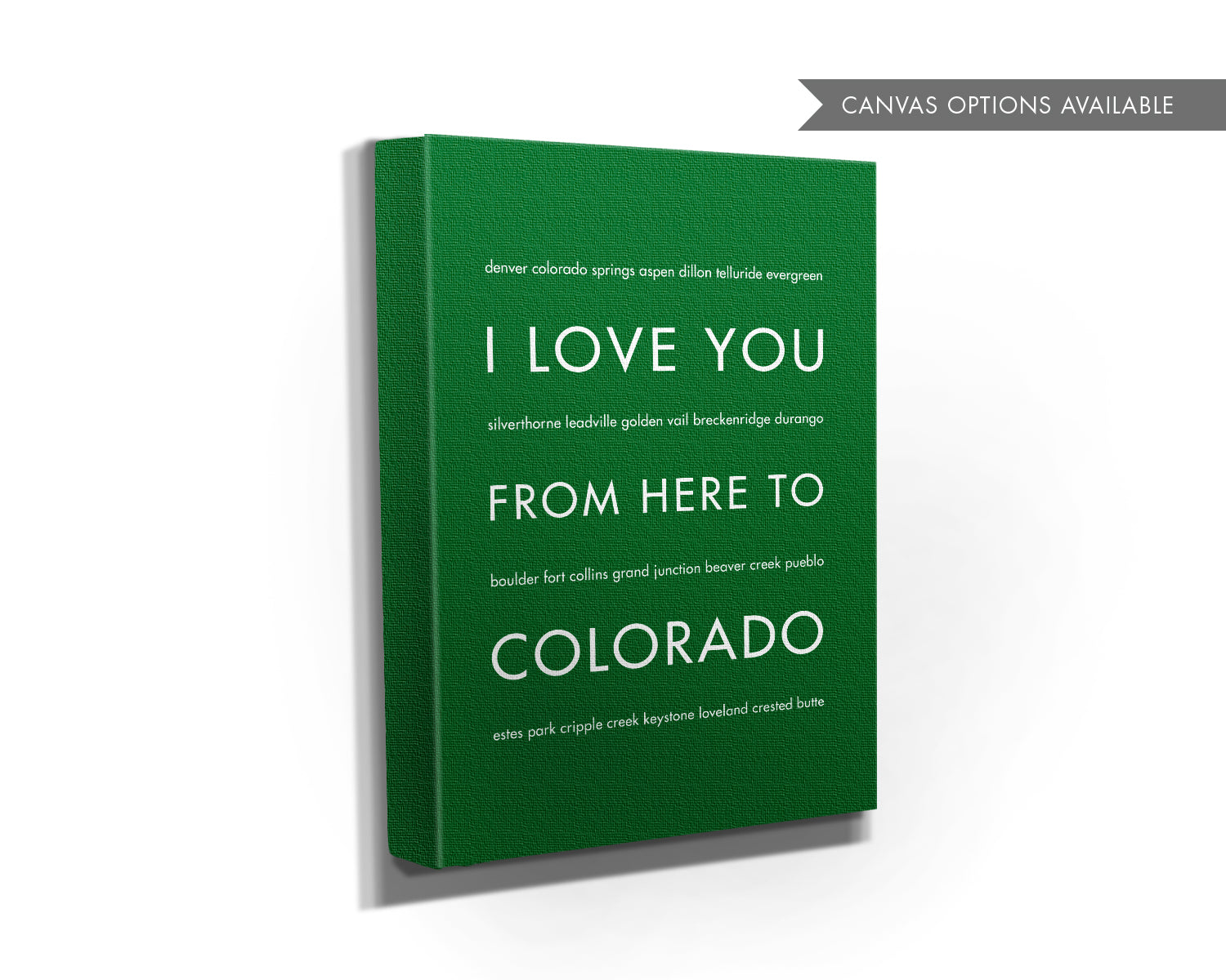 COLORADO State Wall Art | Gift Idea | HopSkipJumpPaper