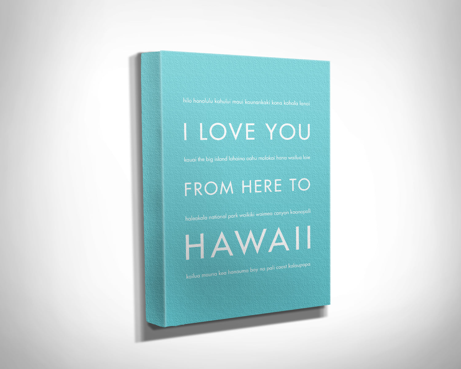 HAWAII Vacation Wall Art | Gift Idea | HopSkipJumpPaper