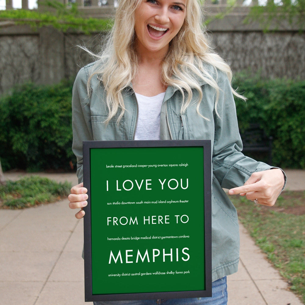 Memphis City Home Decor | Gift Idea | Hop Skip...