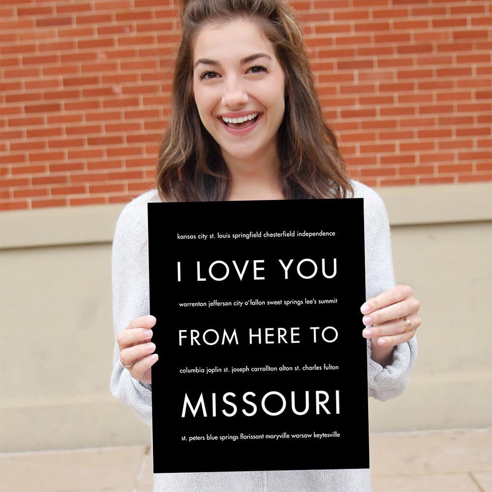 Missouri State Home Decor | Gift Idea | Hop...