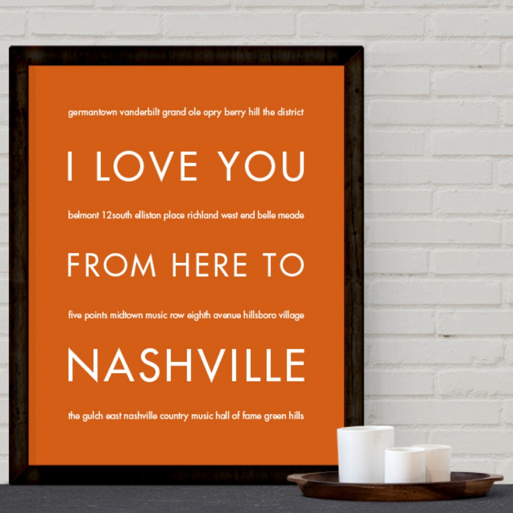Nashville City Home Decor | Gift Idea | Hop...