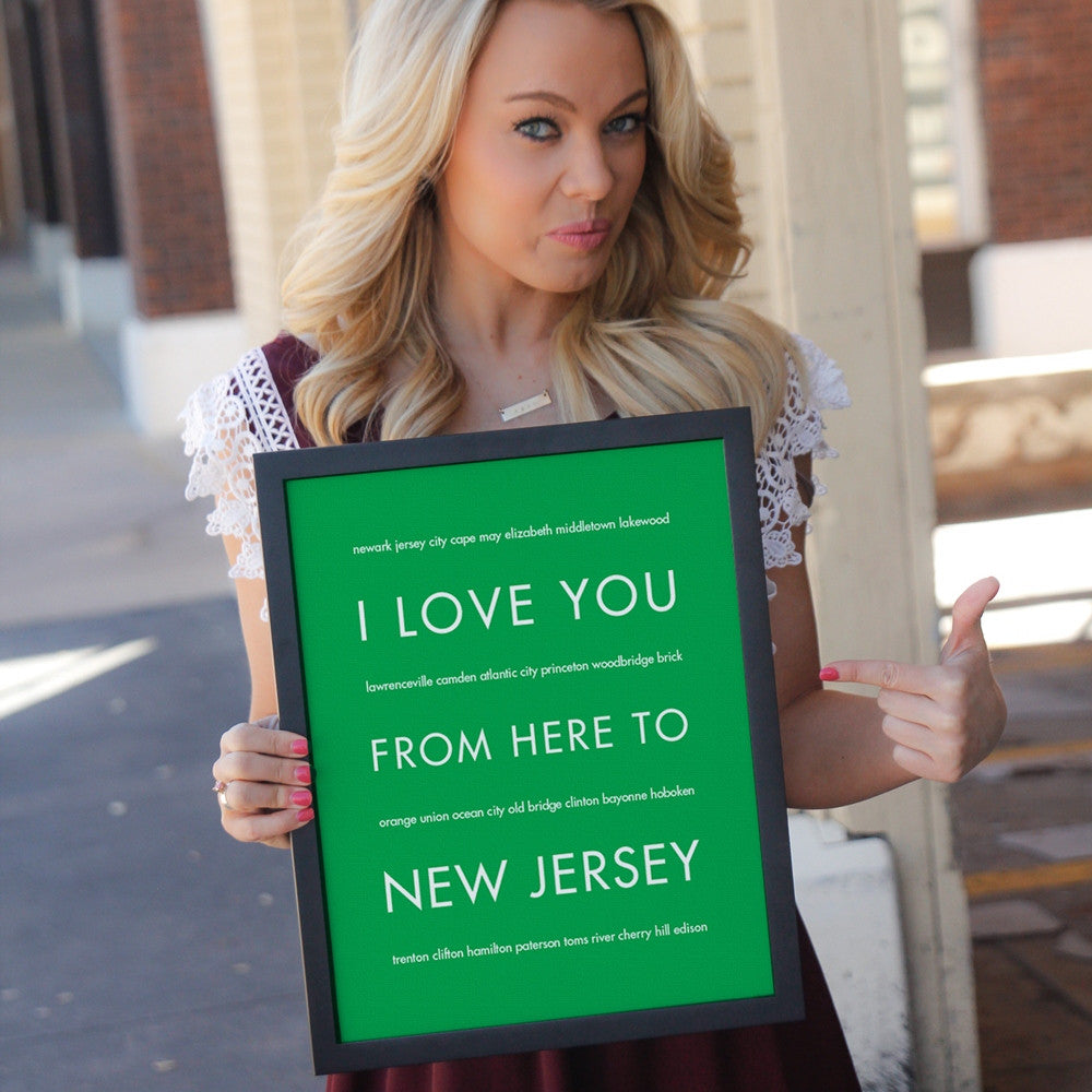 NEW JERSEY State Home Decor | Gift Idea | HopSkipJumpPaper  - Shop Online