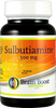 Sulbutiamine Capsules 500mg 60 Count Bottle