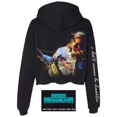 Dramatic Cropped Hoodie + Digital Album