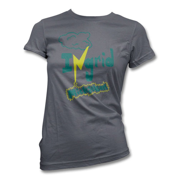 Grey Womens Zap Tee