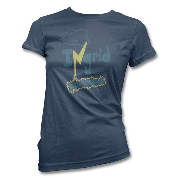 Navy womens Zap Tee