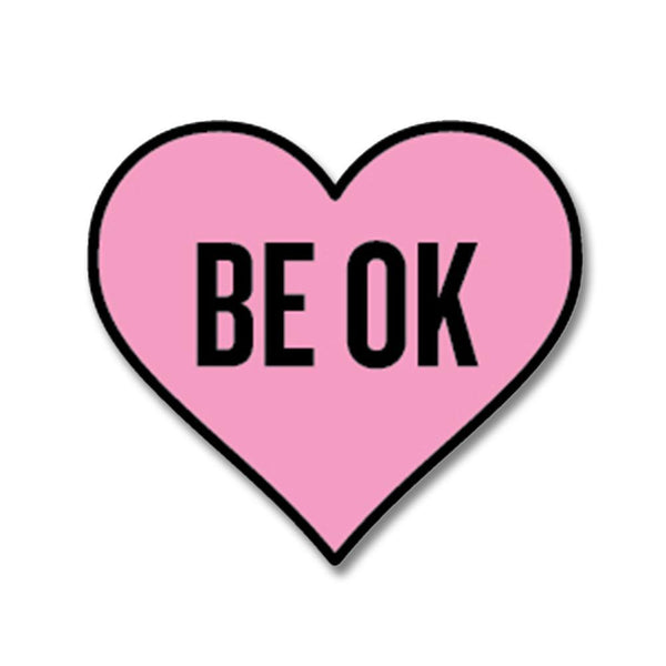 Official Ingrid Michaelson BE OK Enamel Pin