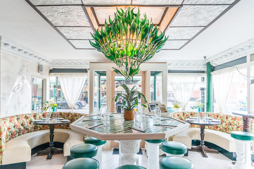 The Top Tropical-Inspired Cafés, Bars and Restaurants