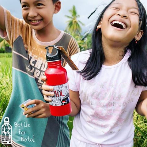 DUFMOD Community Projects: Supporting Bottle For Botol