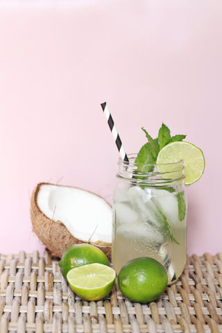tropical mocktail