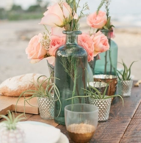 Boho Wedding Tablescape