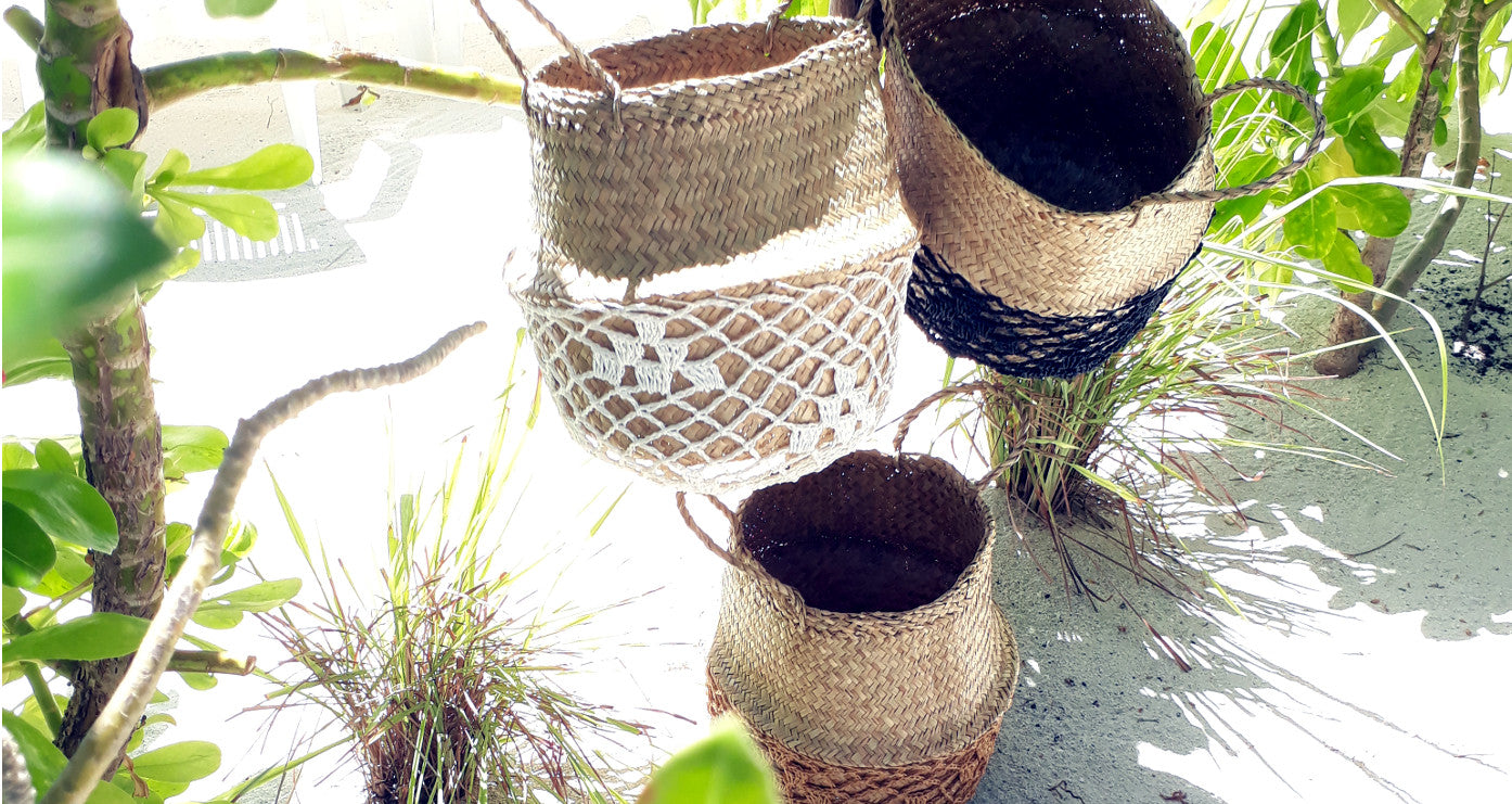 DUFMOD ULA Seagrass Baskets