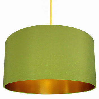 greenery lampshade