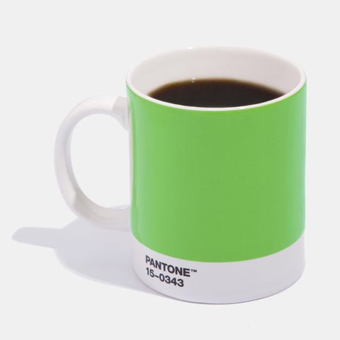 Pantone Greenery coffee mug