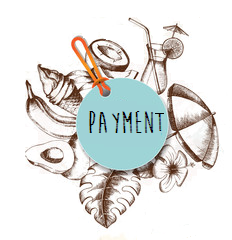 Tropical Payment Button