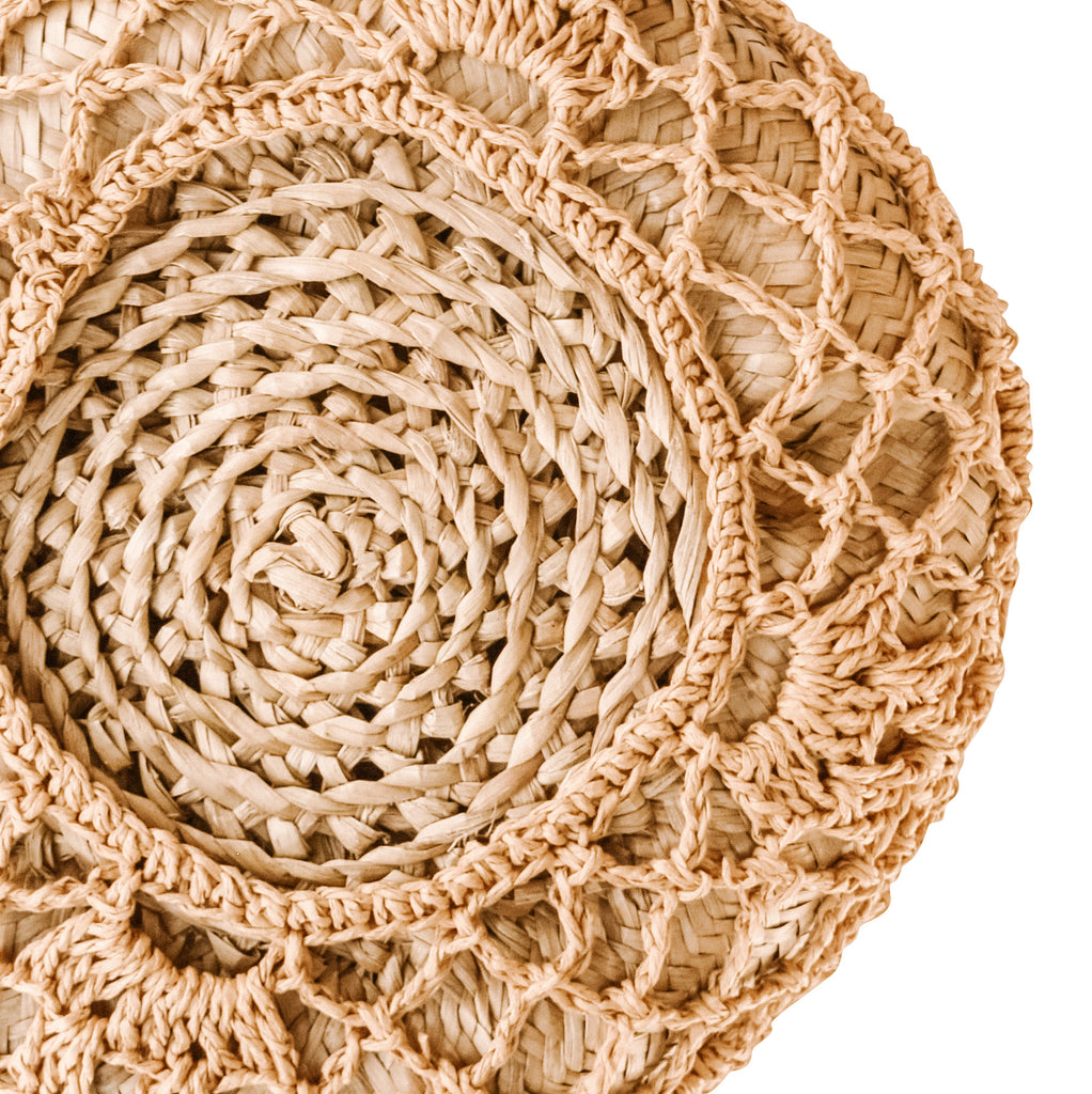 ULA Seagrass Baskets [Warm Tan Macrame]