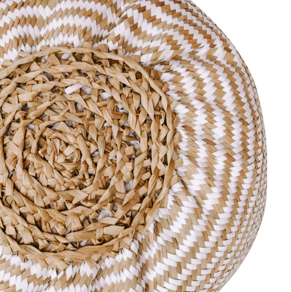 RARA AVES Seagrass Basket [White]