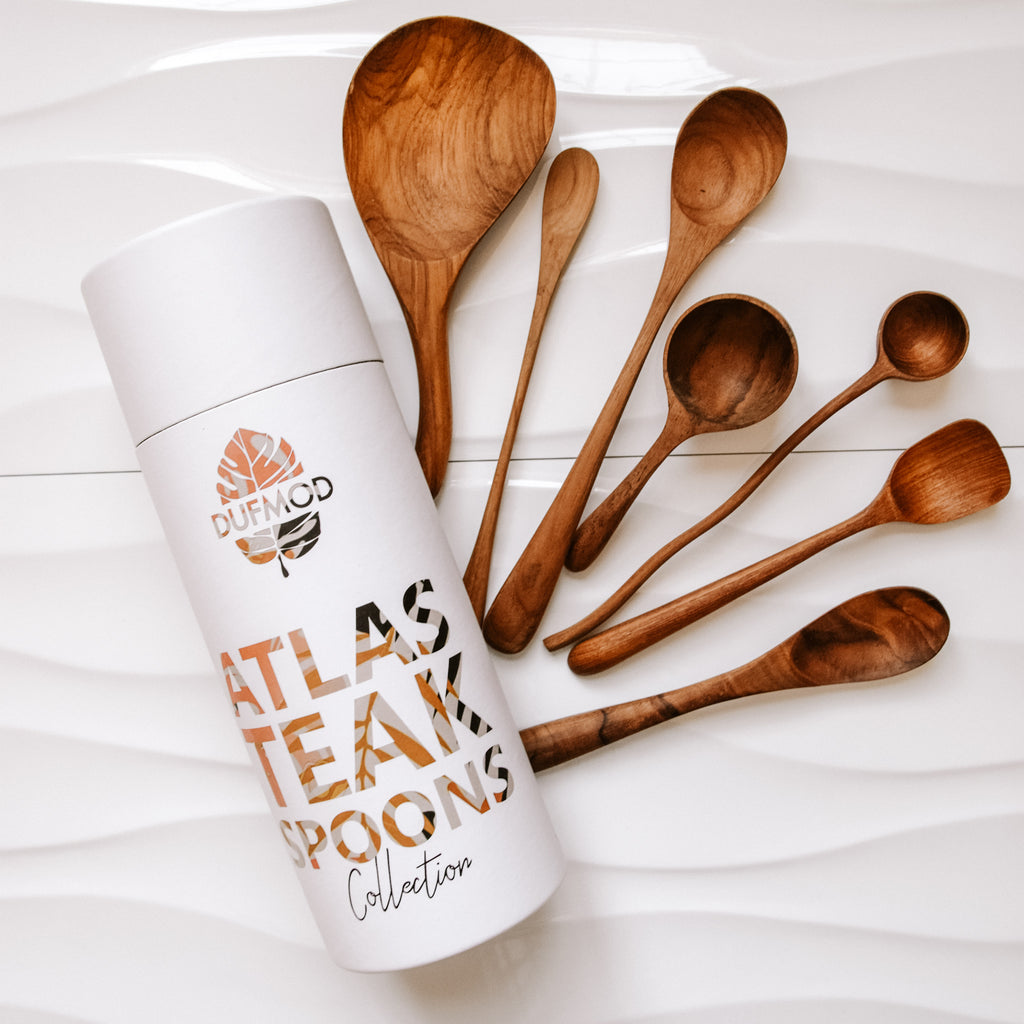Atlas Teak Spoon Collection