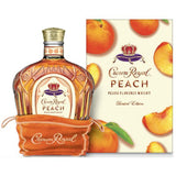 Peach Crown Royal Infused Caramel