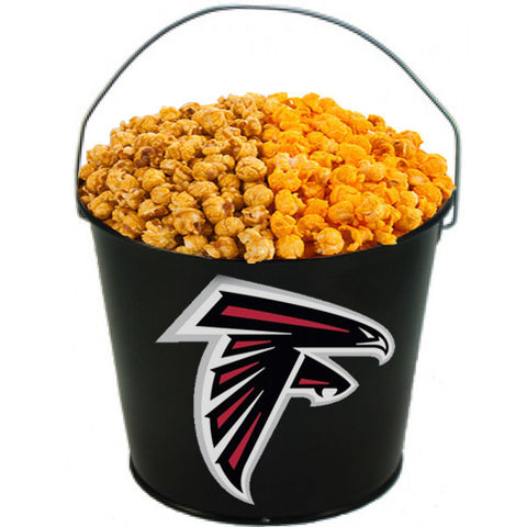Atlanta Falcons Powder Coated Metal Bucket