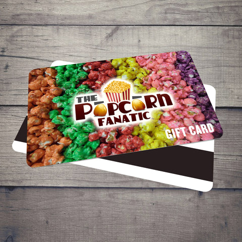 Popcorn Fanatic Gift Card