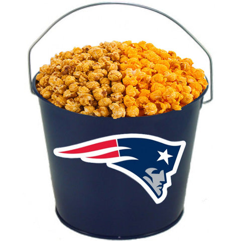 New England Patriots Powder Coated Metal Buckets