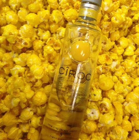 Pineapple Ciroc Infused Pineapple Popcorn