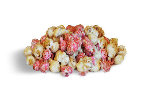 STRAWBERRY CHEESECAKE POPCORN