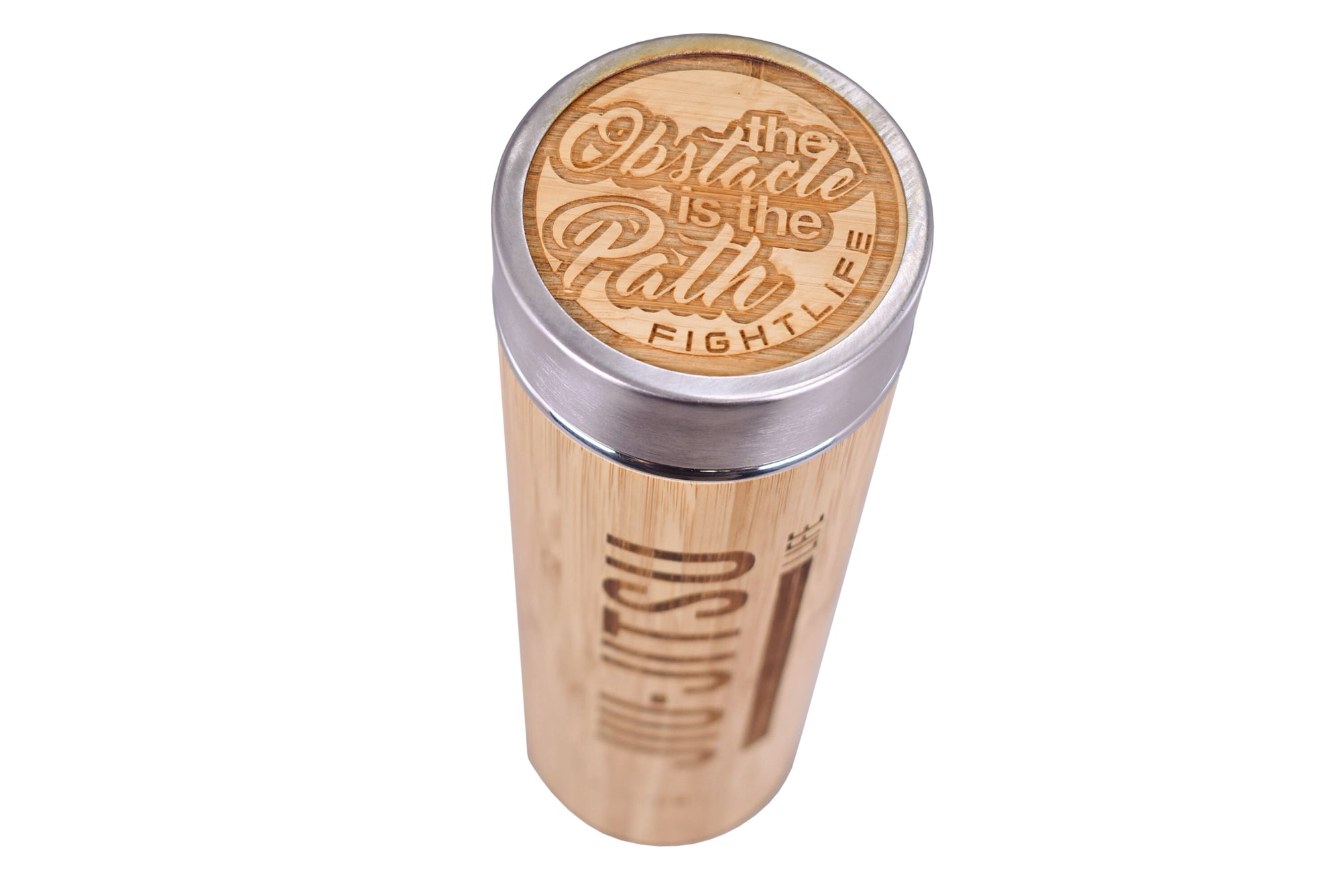 Limited Edition BP CK Collab Jiu Jitsu Life Bamboo Water Bottle - The Path Edition