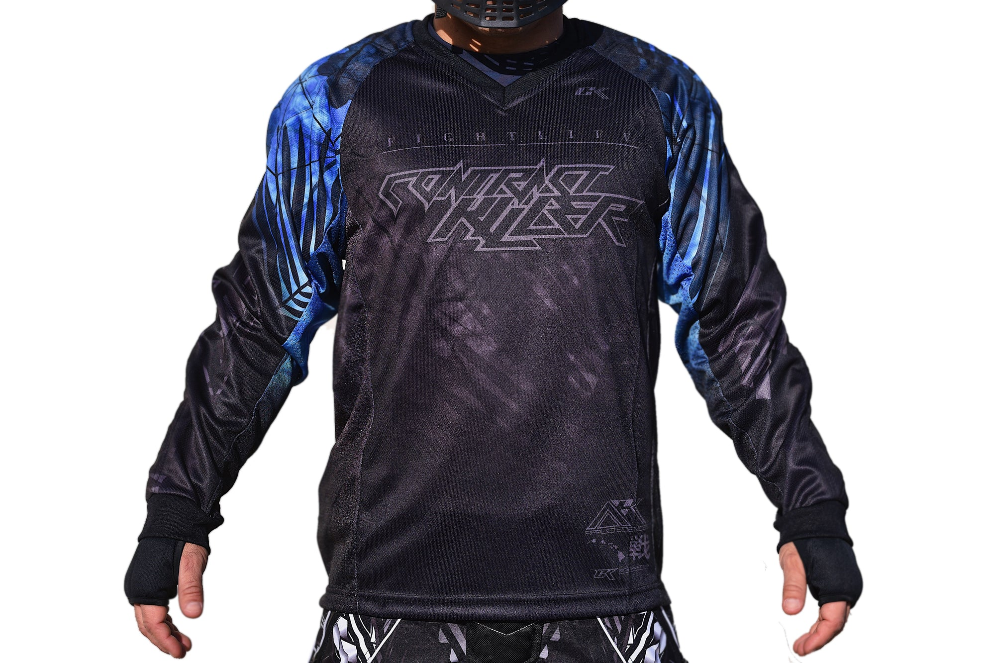 CK CKONGO Paintball Jersey - Blue