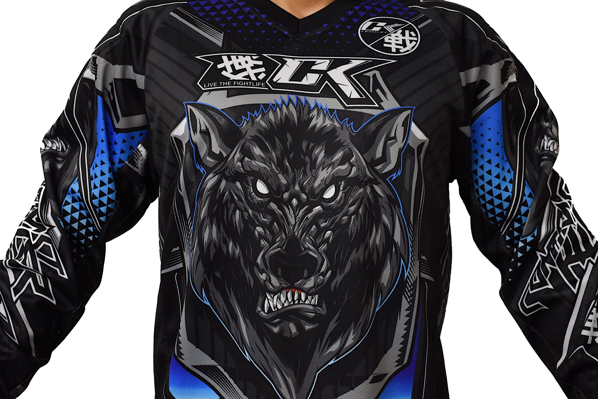 Contract Killer Remus Blue Paintball Jersey
