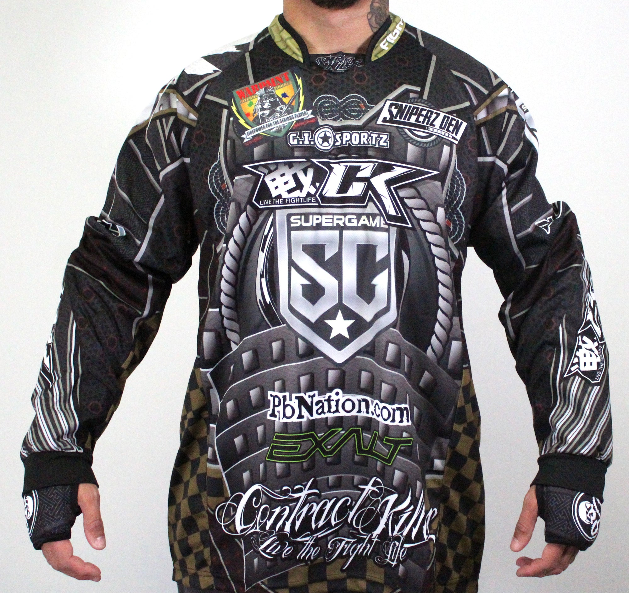 2020 Super Game Oregon Paintball Jersey -  SG53 Design by CK FIGHTLIFE - PREORDER